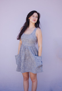 Sashiko dress | by peneloping