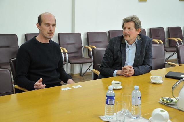 Visit of Dr. Zbynek Hlavac