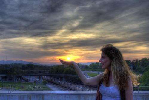 A Star In The Palm Of My Hand - Sunset Roanoke VA Photography Terry Aldhizer | by Terry Aldhizer