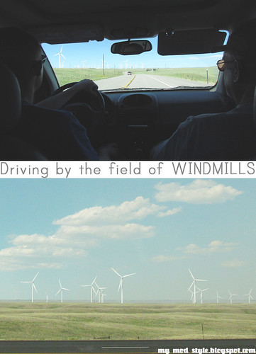 Windmills / Wyoming / June 2012 | by Jessie {Creating Happy}