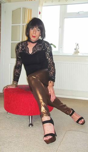 Miss jones legs upskirt