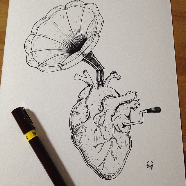 Dessin Tatouage Musique smolll #smolllartworks #smollltattooartist #dessin #draw … | flickr