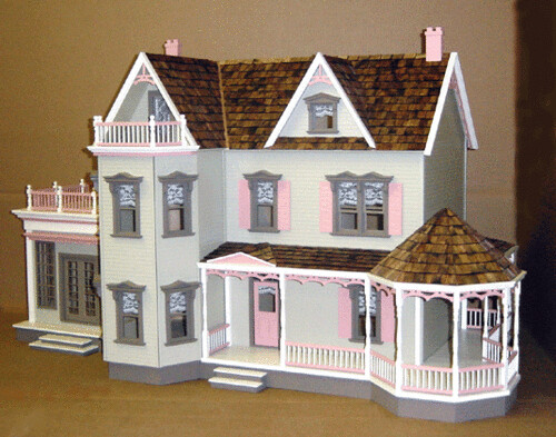 Free doll house plans the best free doll house plans for American house plans free