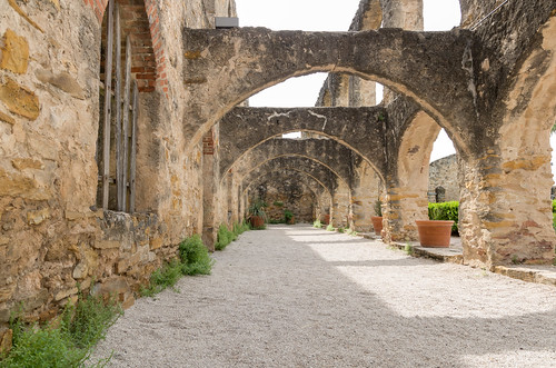 Arched Courtyard