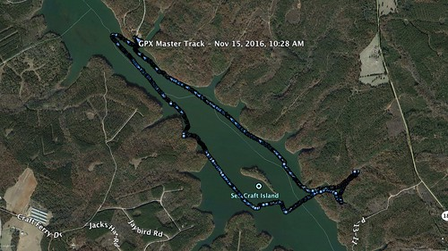 Lake Russell Paddle Route