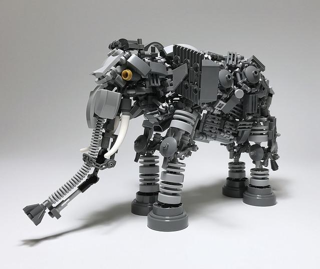LEGO Mech Elephant-01