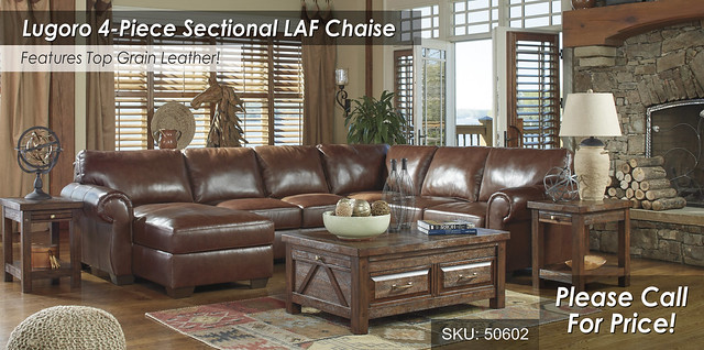 Lugoro Saddle 4PC Sectional 50602-16-77-34-56-T862