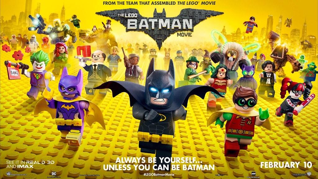 Resultado de imagem para Lego Batman The Movie banner
