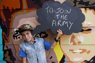 Tyerell Fergusson dreams of joining the army | by ABC Open Western Plains NSW