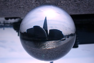 View from Tower Bridge through a Crystal Ball | by Anatoleya