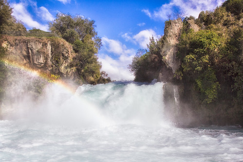 Confronting the Huka Falls | by AboHadi