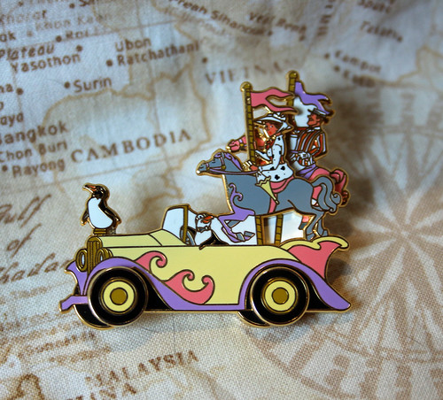 Limited edition Stars 'n' Cars pin