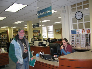 1st floor Information Desk | by WilmingtonMemorialLibrary