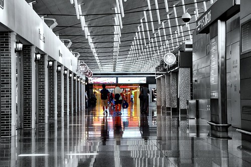 Shanghai Airport reflections | by missgeok