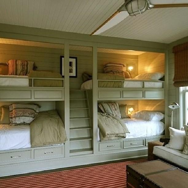 Atlanta Living Built In Bunk Beds Bunkbeds Beds Child Flickr