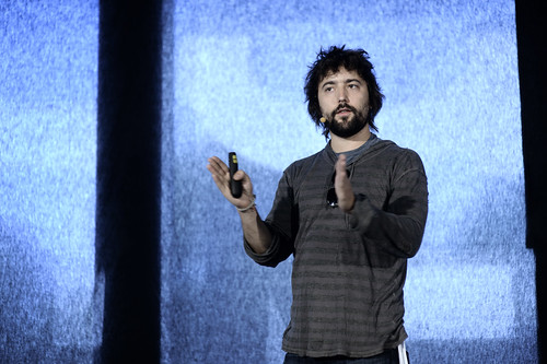 Tom Szaky TerraCycle on stage Rebuild21 | by Leaderlab