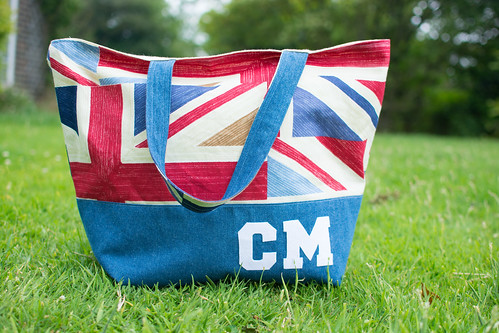 Union Jack Shopping Tote | by claremansell