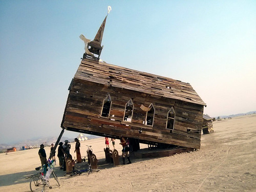 Church-Trap 4, the Playa, Burning Man 2013, Black Rock City, NV, USA | by gruntzooki