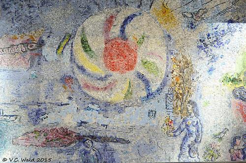 Marc chagall four seasons tile mural 14 ft x w 10 ft for 4 seasons mural