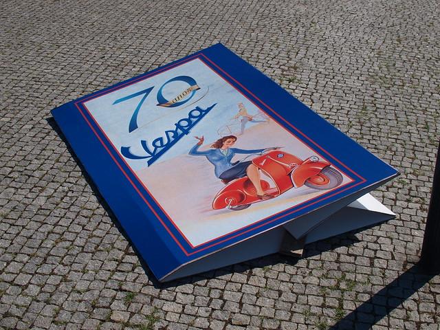 70 anos Vespa @ AutoClássico Exponor