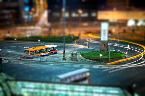 Leeds Bus Station - Tilt Shift | by SquidVW
