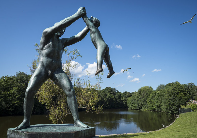 Frogner Park in Norway