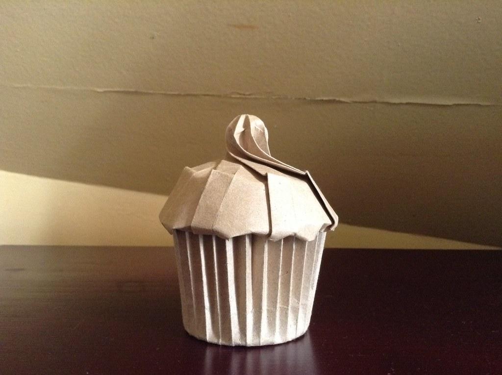 Origami Cupcakecupcake Box Designed By Me Alphonsus Nonog Flickr