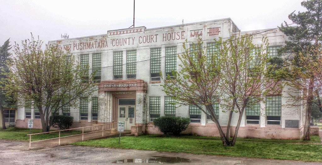Pushmataha County Courthouse Antlers Ok 1 Kevin Stewart Flickr