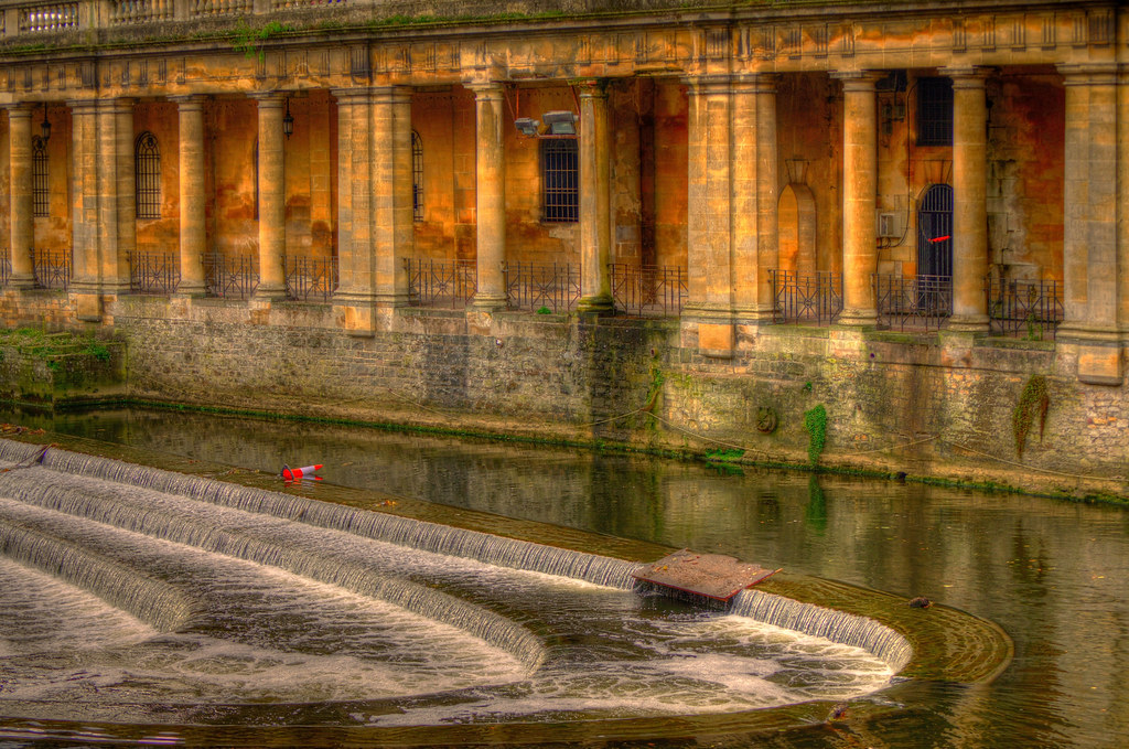 A weir,,,shot in the city Bath..UK._01 | On my way home I\'ve… | Flickr