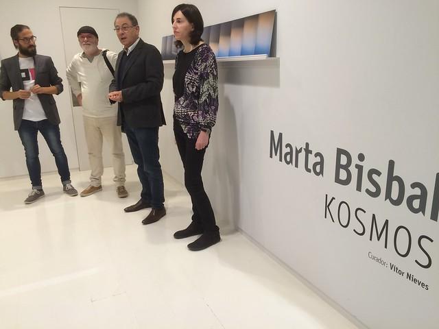 Inauguración de KOSMOS de Marta Bisbal. OF2016