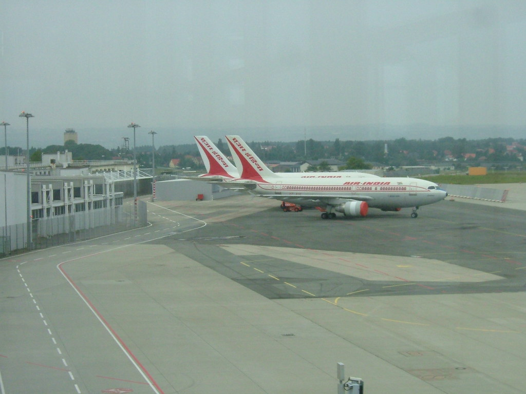 Air India jets at Dresden airport Surprise no 1 was the t Flickr