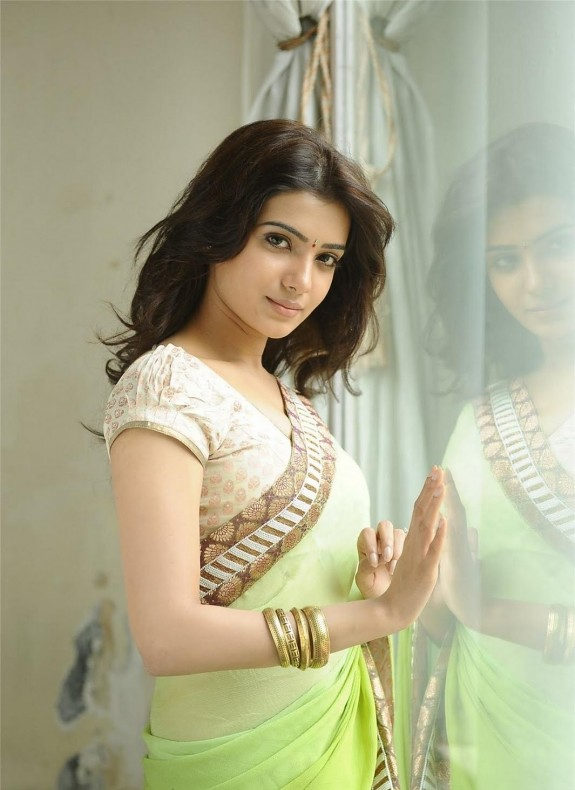 Tamil Actress Samantha Hd Wallpapers In Saree