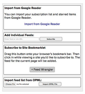 Feed Wrangler import options | by drdrang