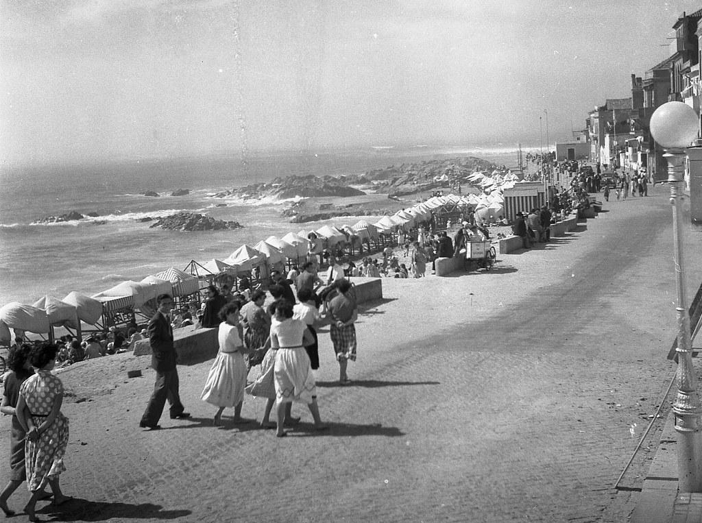 R. da Praia na Foz do Douro, c 1960