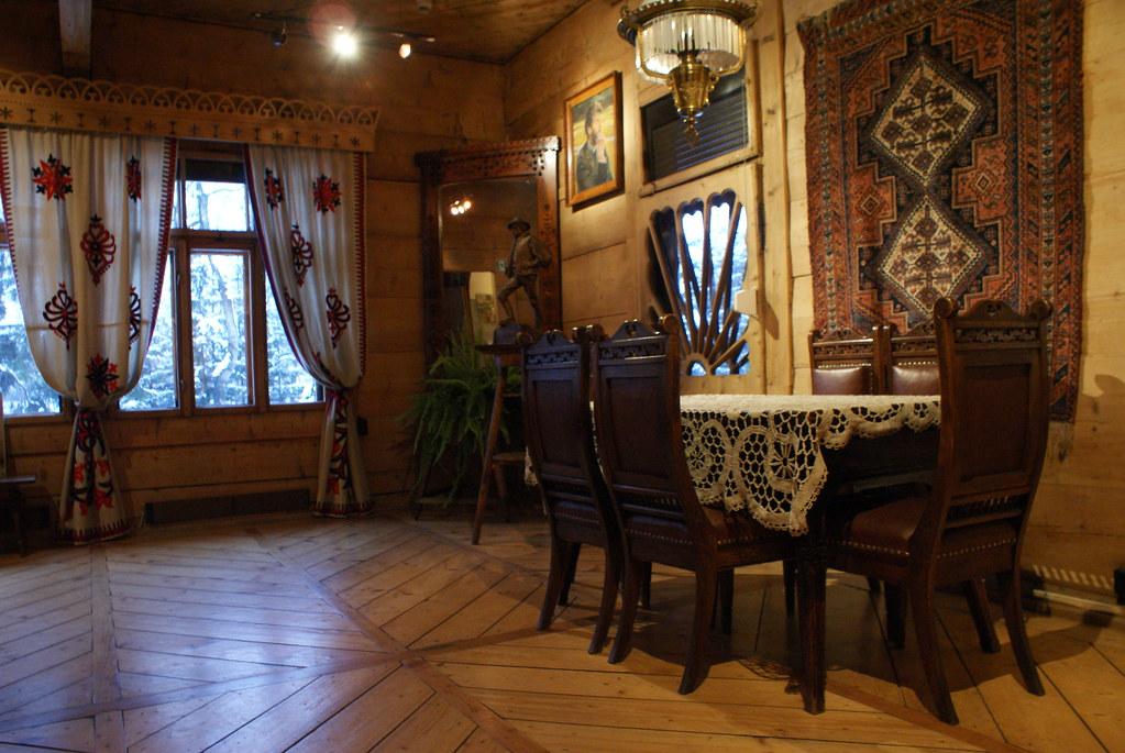 Salon de la Willa Koliba à Zakopane.