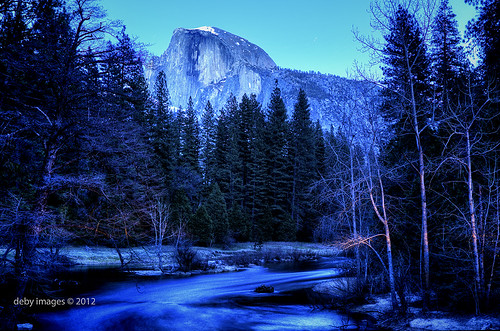 Half Dome and the Merced River | by Deby Dixon