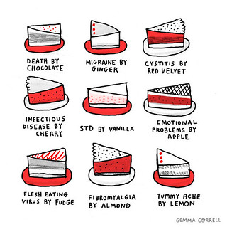 new desserts | by gemma correll
