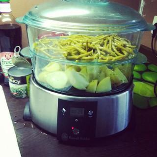 L'atout repas équilibré!!! Le cuiseur vapeur :)