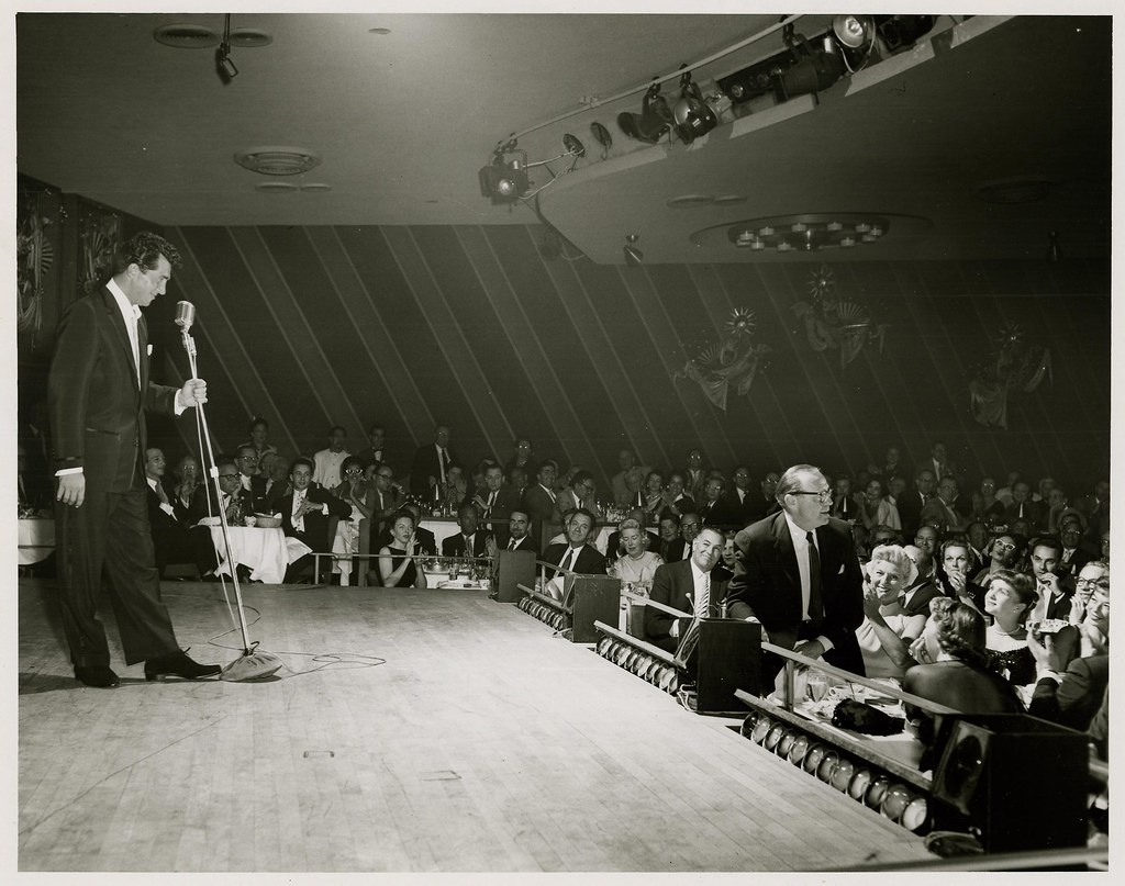 photograph of dean martin and audience in the copa room l flickr rh flickr com copa room las vegas seating chart copa room las vegas seating chart