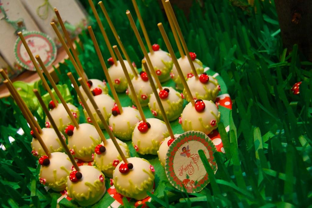 fairy garden cake pops fairy garden cake pops Flickr