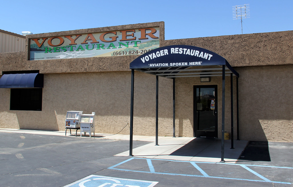 Voyager Restaurant Mojave Air And Spaceport Mojave Ca Flickr