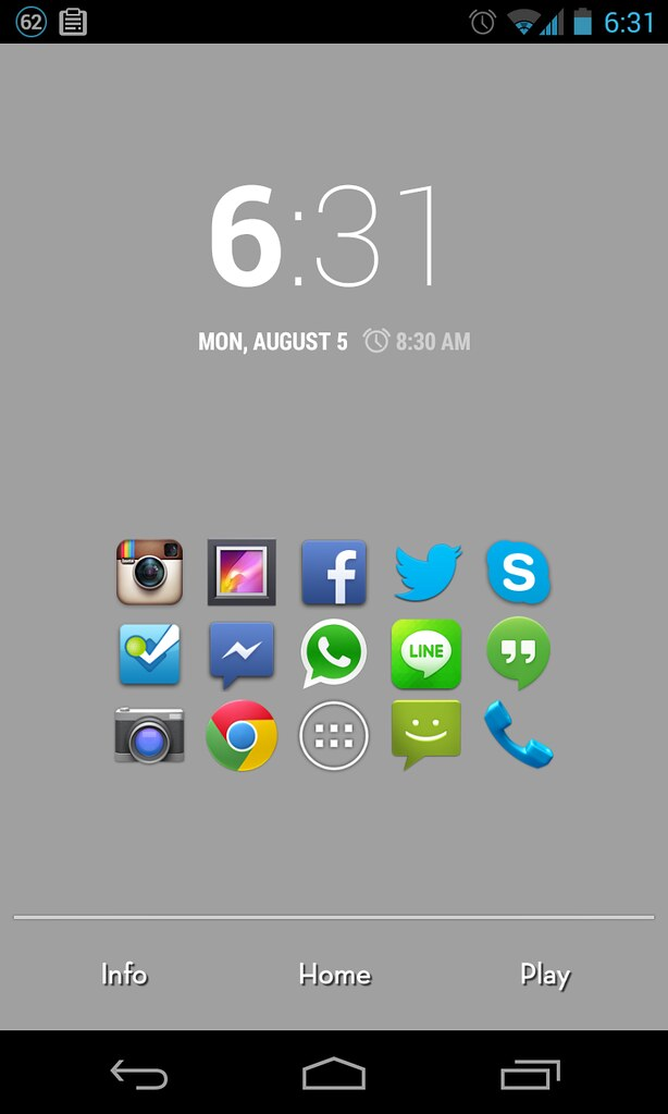 Inspiration By Cool Android Home Screen 4 Poakpong Flickr