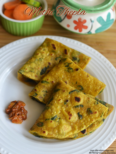 Methi Thepla Recipe