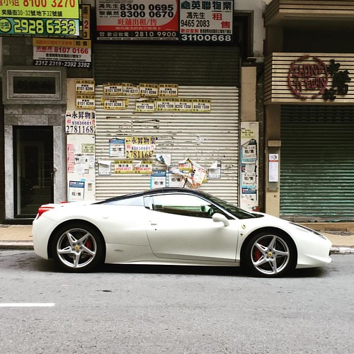 White. Ferrari. Another weekend morning #ferrari in Yik Yam. | by elfrules
