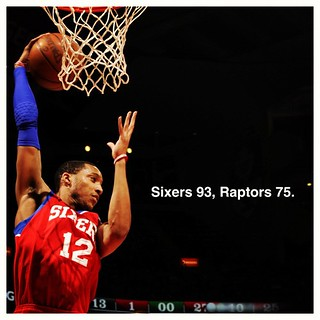 #Sixer beat Raptors 93-75, get second straight win. | by Philadelphia 76ers