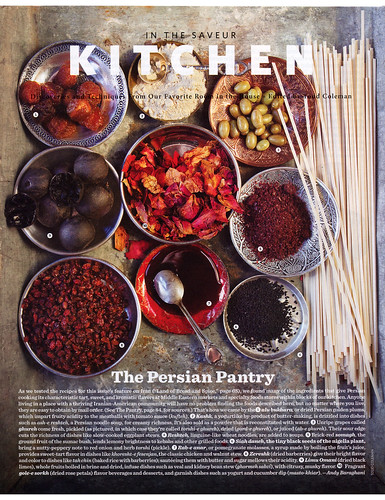 Saveur 2012-03 The Land Of Bread And Spice Iran's Ancient Cuisine J | by Eudaemonius
