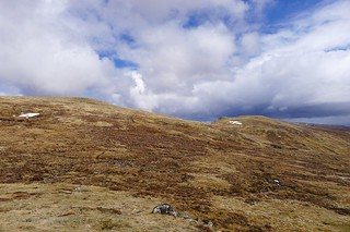 Looking up to Meall na h-Aisre | by Nick Bramhall