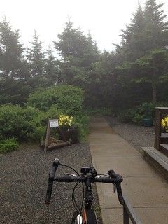 Foggy ride up Cadillac Mountain | by mikepop