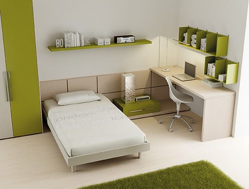 Letto sommier wood lh16 start solution letto sommier for Mensole sopra scrivania