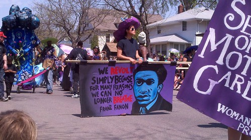 Franz Fanon - May Day 2015 | by PugnoM